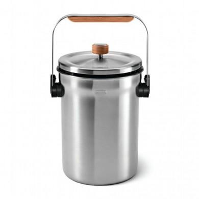 Boite de rangement poubelle de cuisine - Seau a compost pour cuisine ...