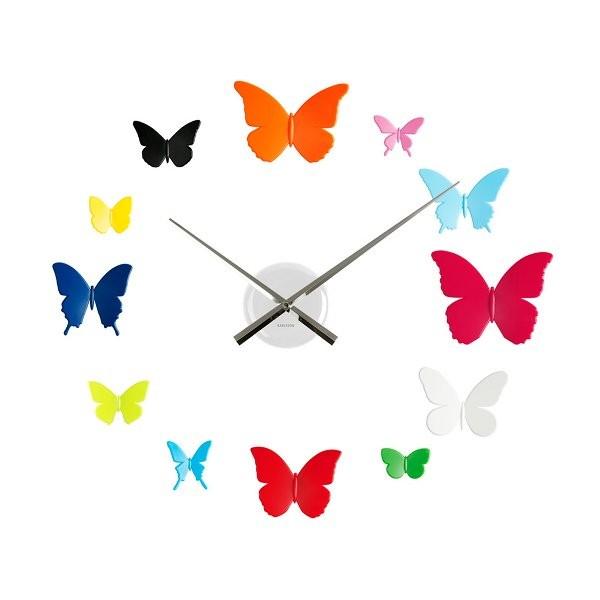 Thisga for Horloge murale multicolore