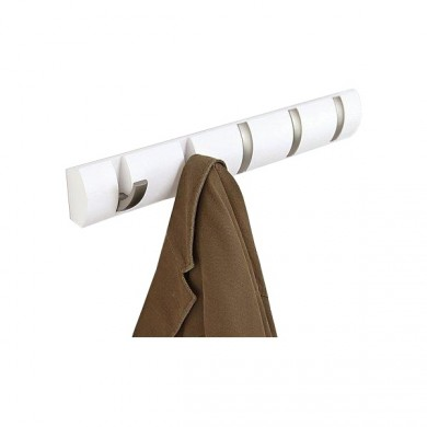 porte manteau mural 10 crochets bois et c ramique pictures to pin on pinterest. Black Bedroom Furniture Sets. Home Design Ideas